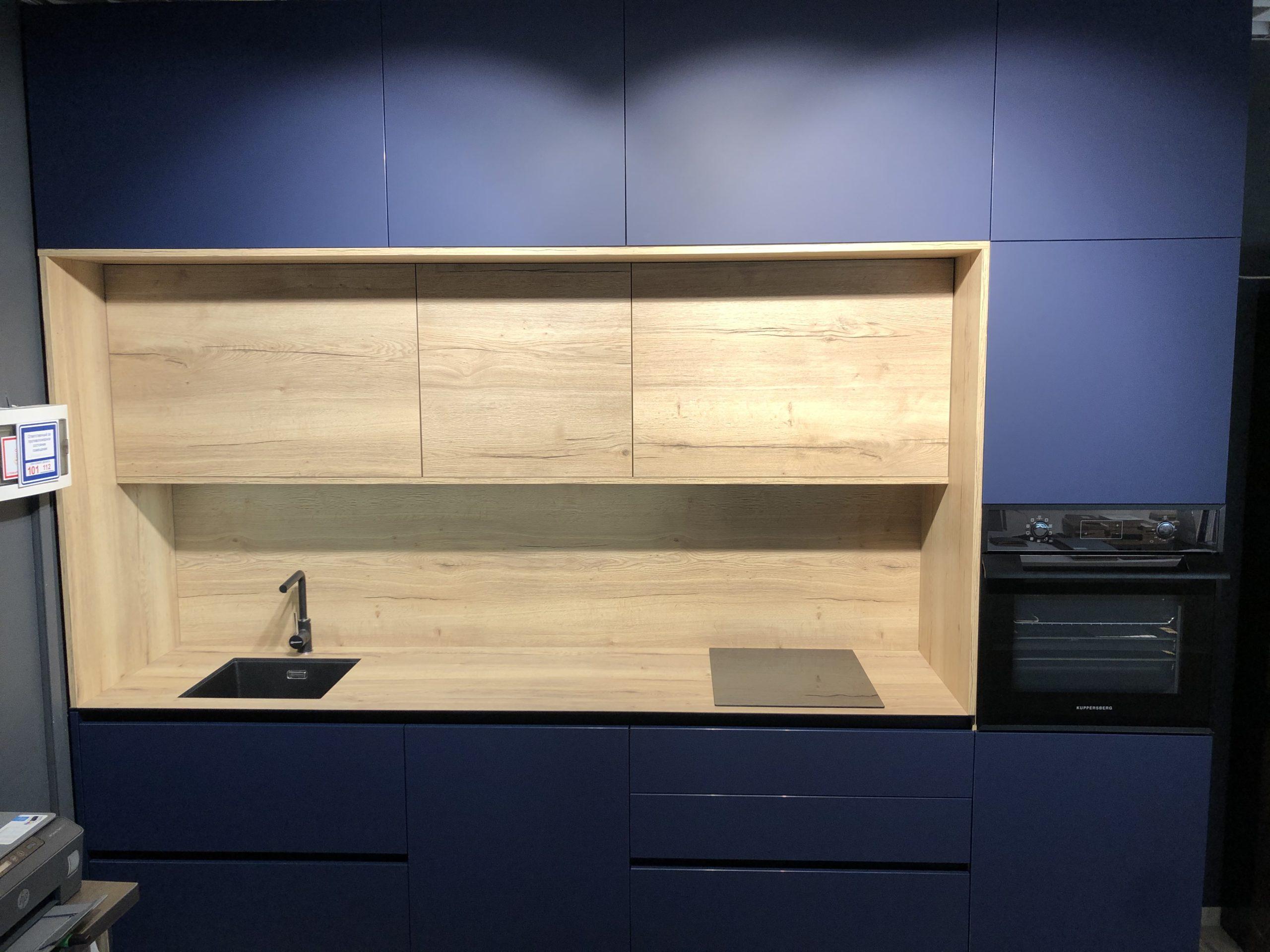 """Кухня """"Fenix"""" - популярная модель кухни Зов в современном стиле"""