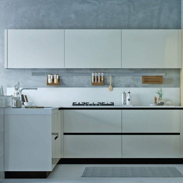 Белая кухня - серия Альберта