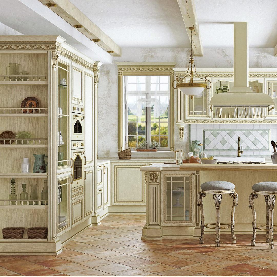 Кухня в классическом стиле «Артвуд»