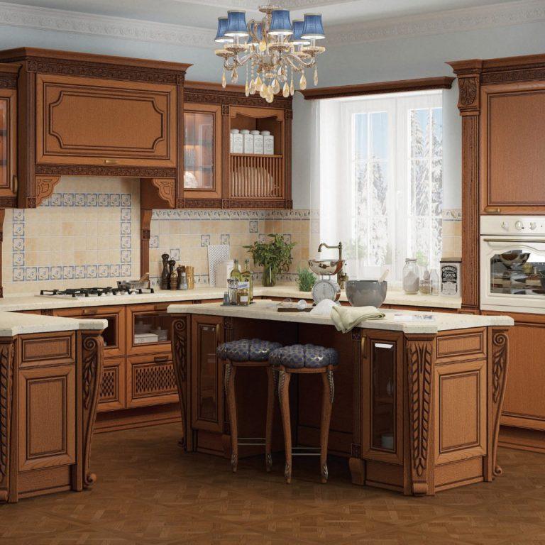 """Кухня с порталом """"Мадейра"""""""