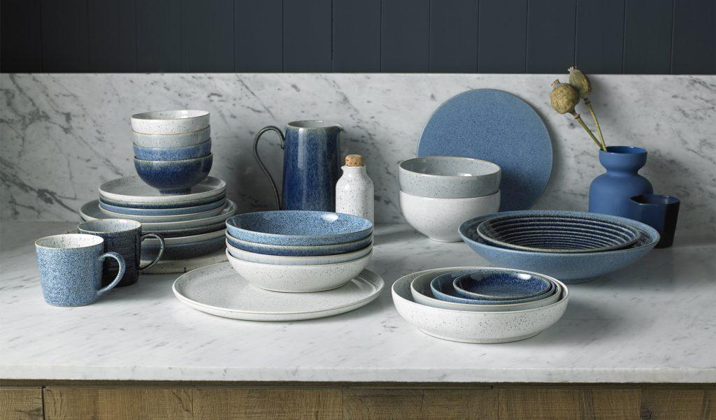 Тренд дизайна кухни 2021 - Винтажная и керамическая посуда