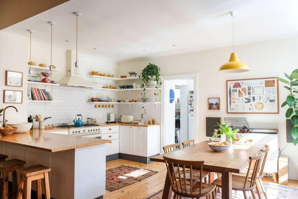 Кухня в стиле Сканди