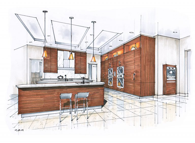Проектирование кухни - ответственный и сложный этап
