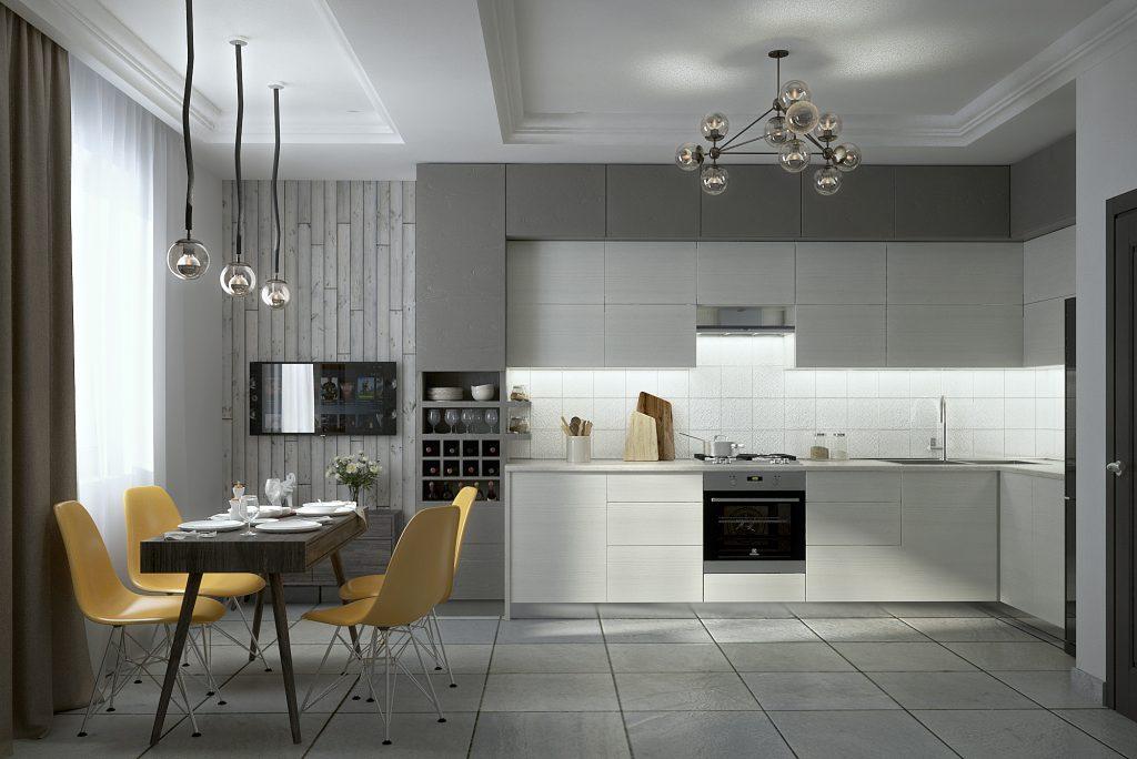 В дизайне кухни важно продумать все ваши потребности